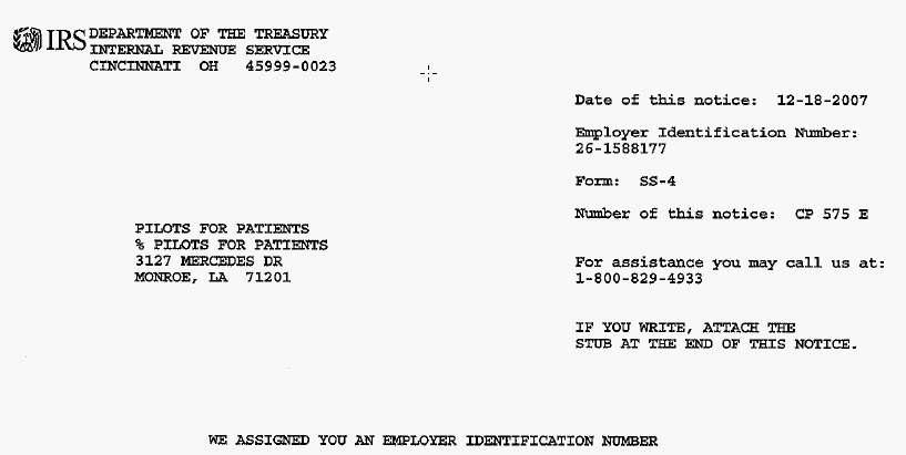 Pfp Exempt 501 C